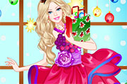 Barbie's Christmas Princess Dresses