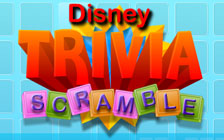 Disney Trivia Scramble