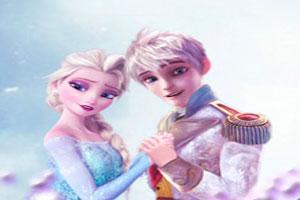 Elsa and Jack Frost Tetris