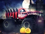 New Monster Truck Halloween Hunt